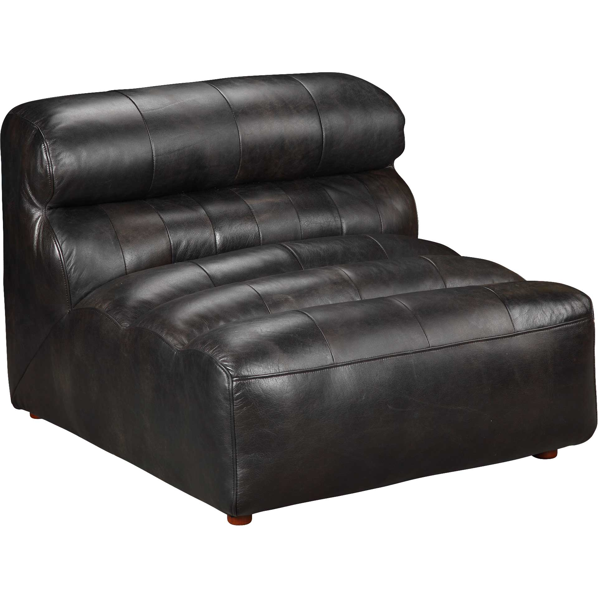 Ramses Leather Slipper Chair