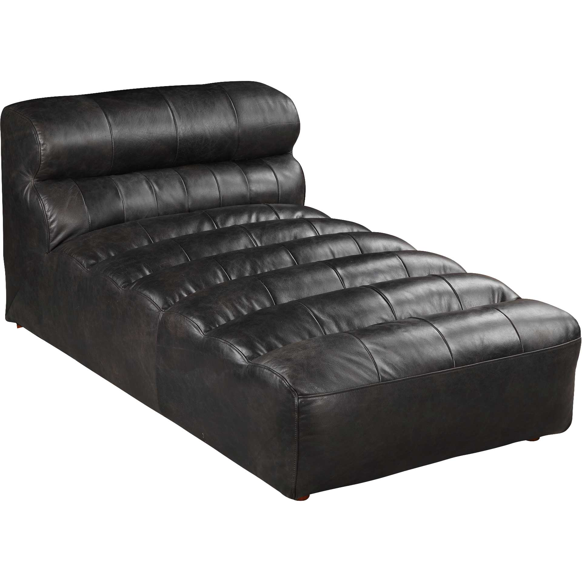 Ramses Leather Chaise