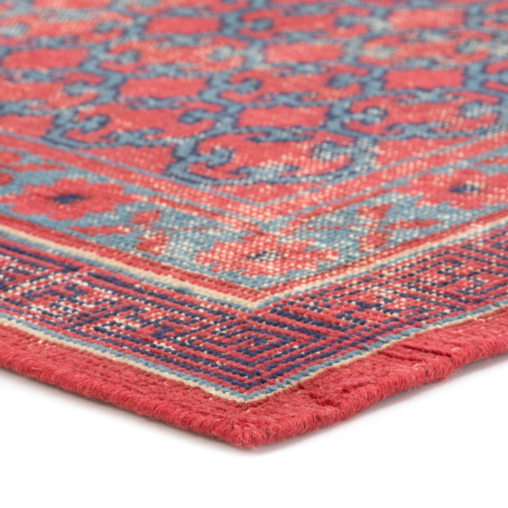 Revolution Concord Red/Blue Area Rug