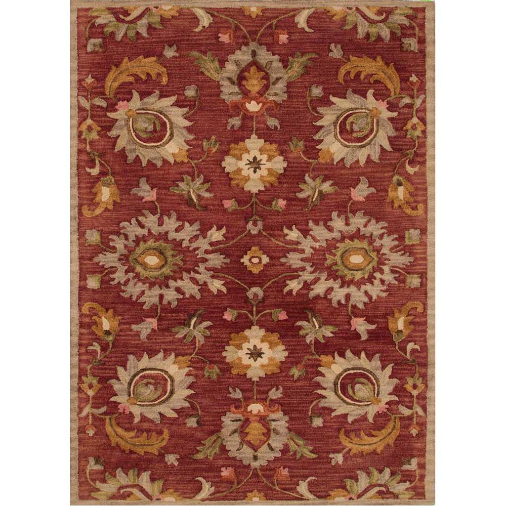 Reverie Reflection Russet Brown/Amber Gold Area Rug
