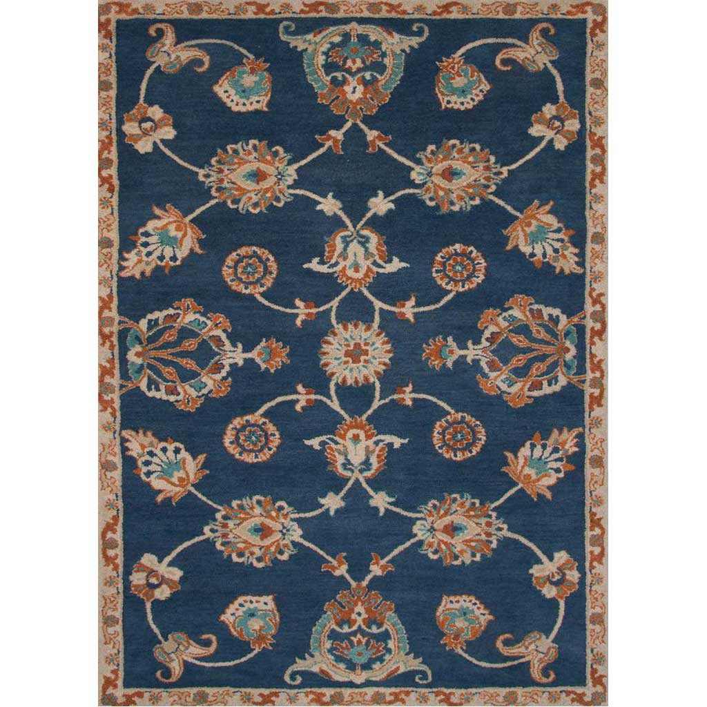Reverie Ponder Blue Coral/Lagoon Area Rug