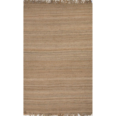 Rugged Natural Beige Area Rug