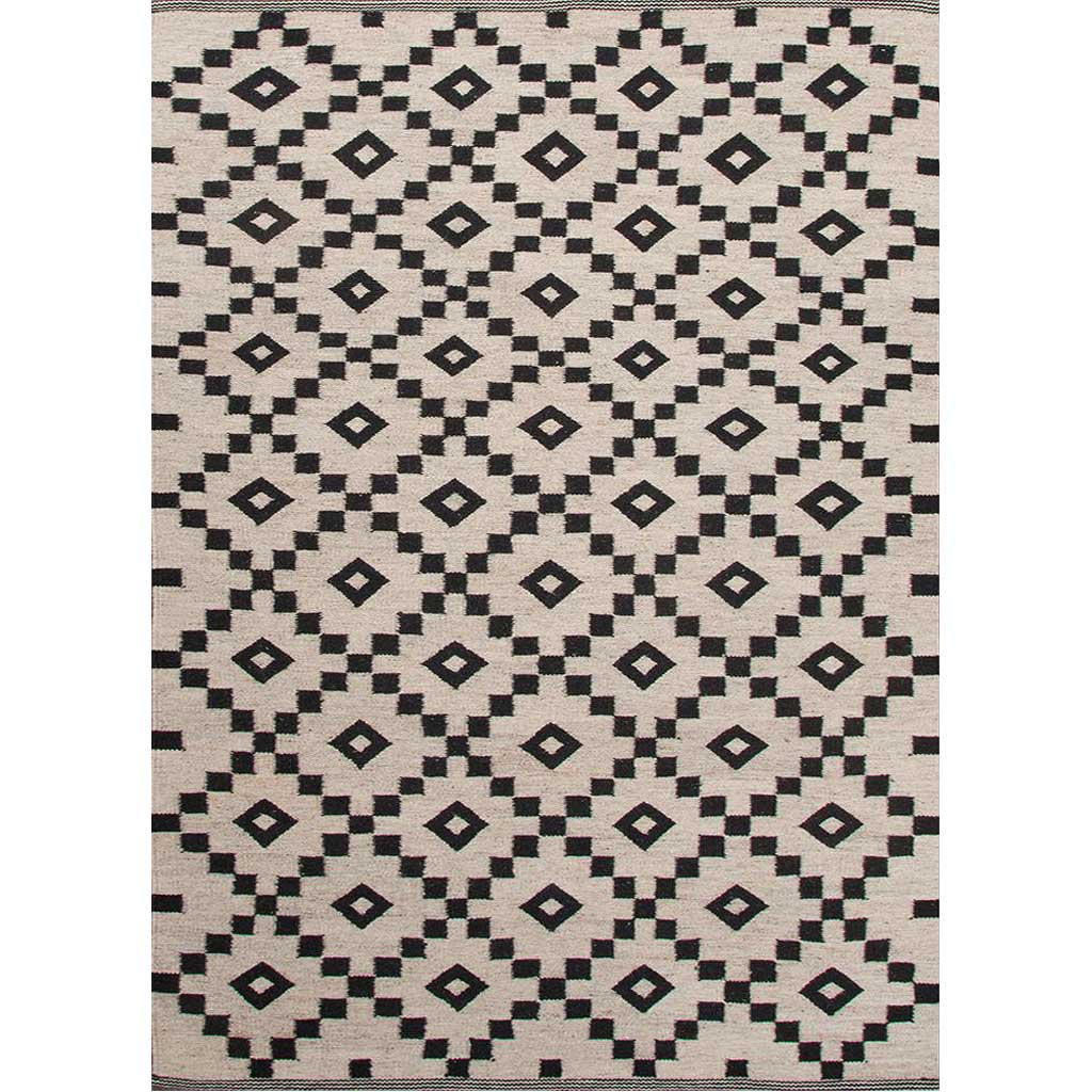 Scandinavia Croix Antique White/Ebony Area Rug