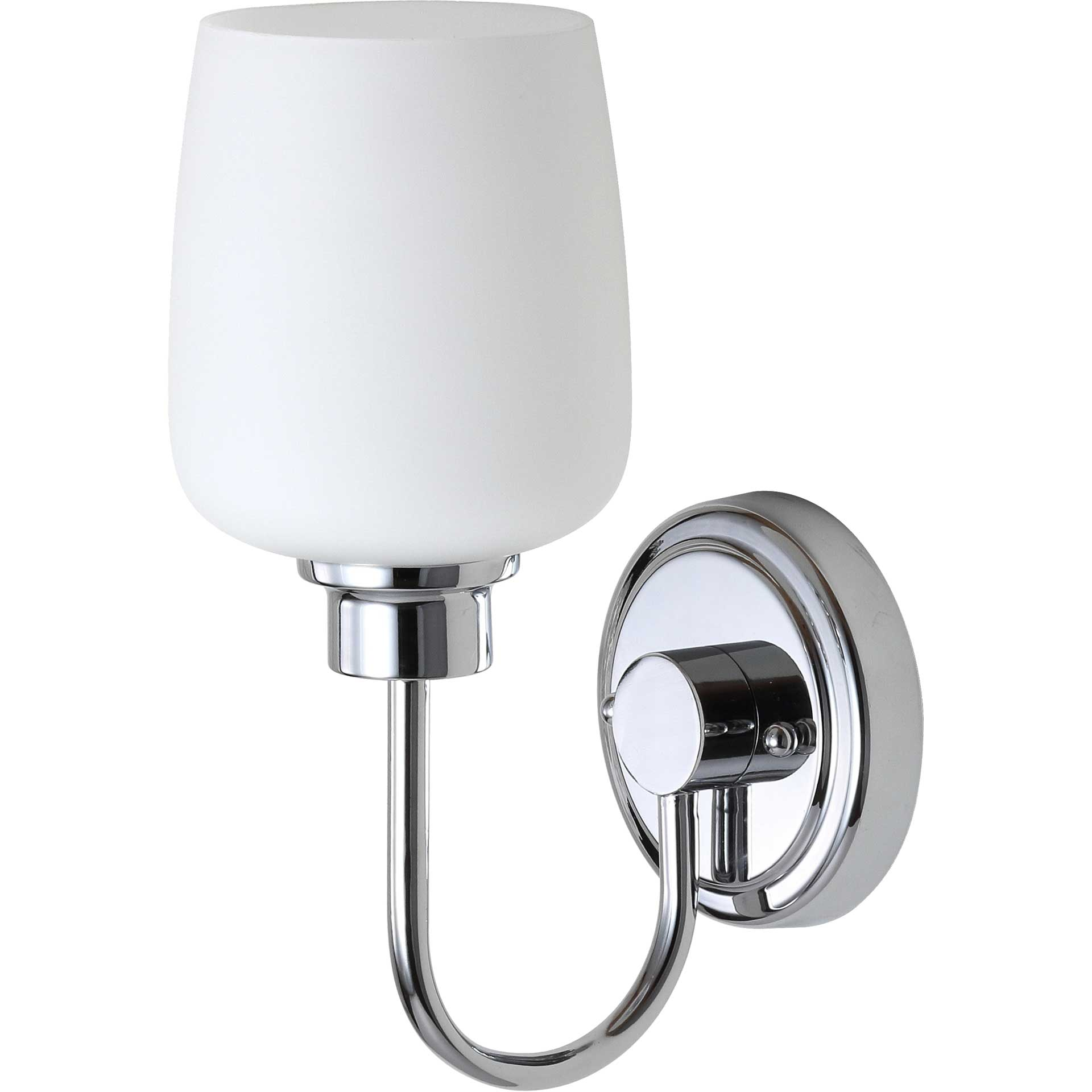 Carthage Bathroom Sconce Chrome
