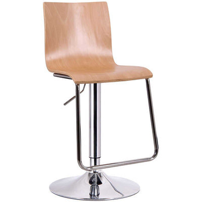 Ede Barstool Light Wood (Set of 2)