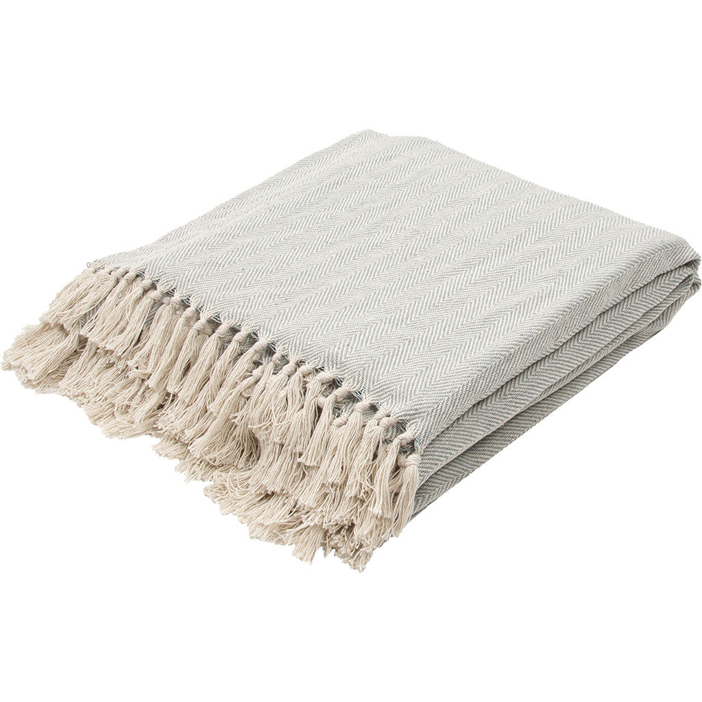 Seabreeze Mineral Blue/Birch Throw