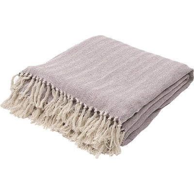 Seabreeze Plum Wine/Birch Throw