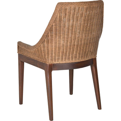 Fradel Rattan Sloping Chair