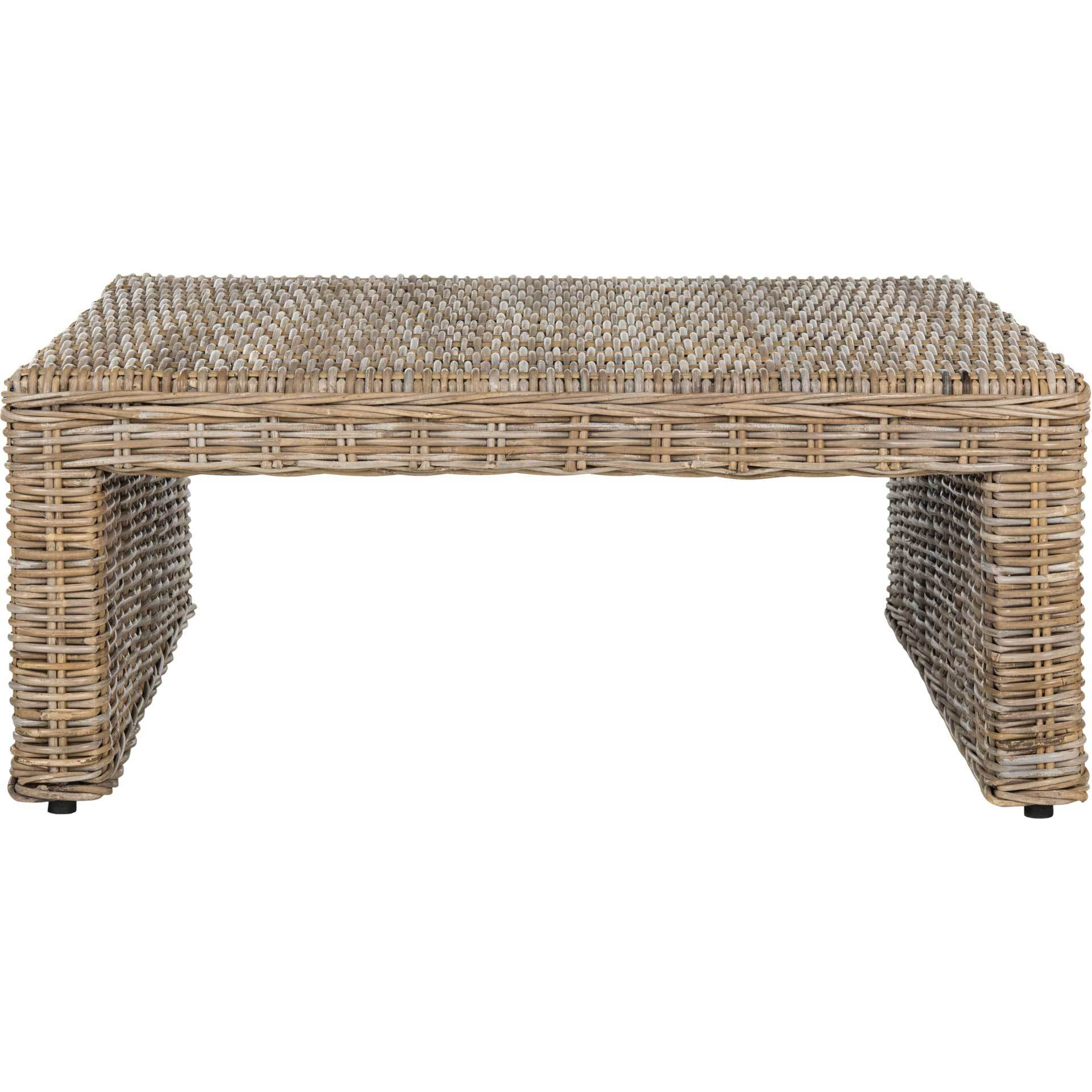 Peter Wicker Coffee Table