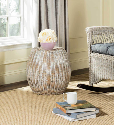 Regan End Table Antique Gray