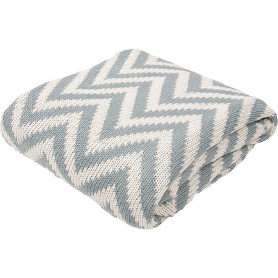 Serin Smoke Blue/Turtle Dove Throw