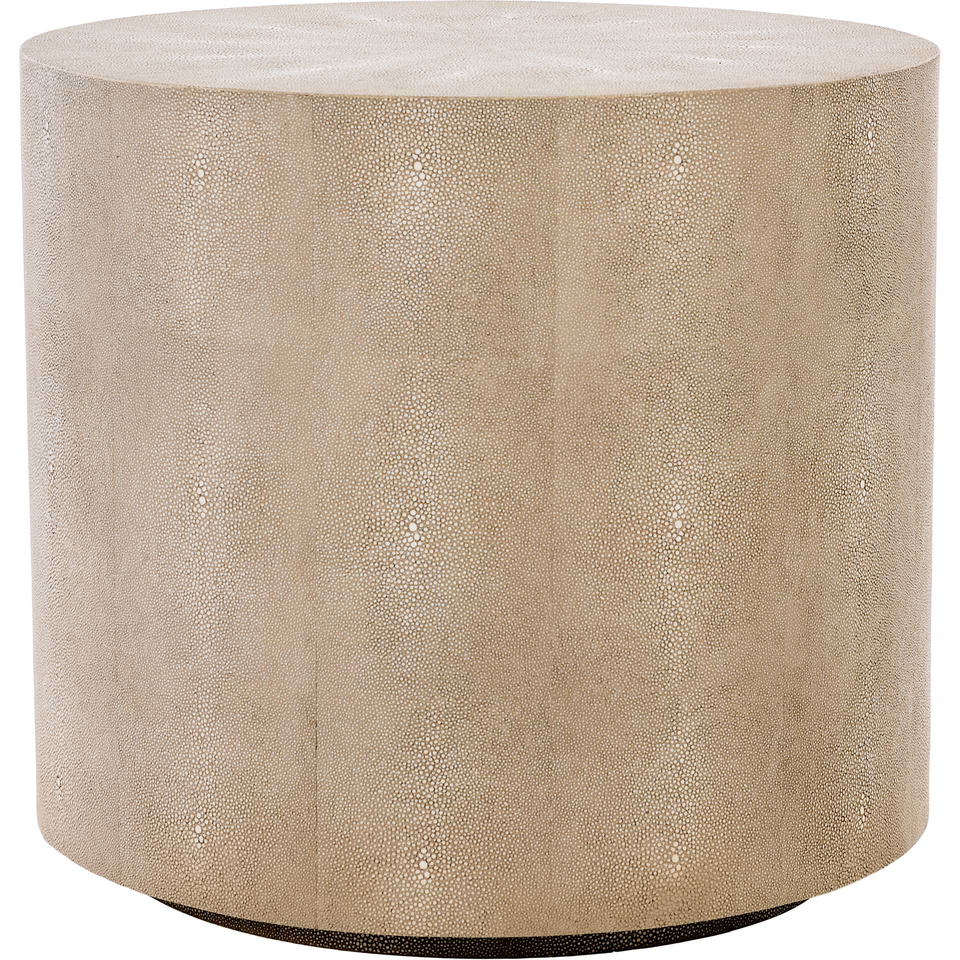 Digress Faux Shagreen End Table