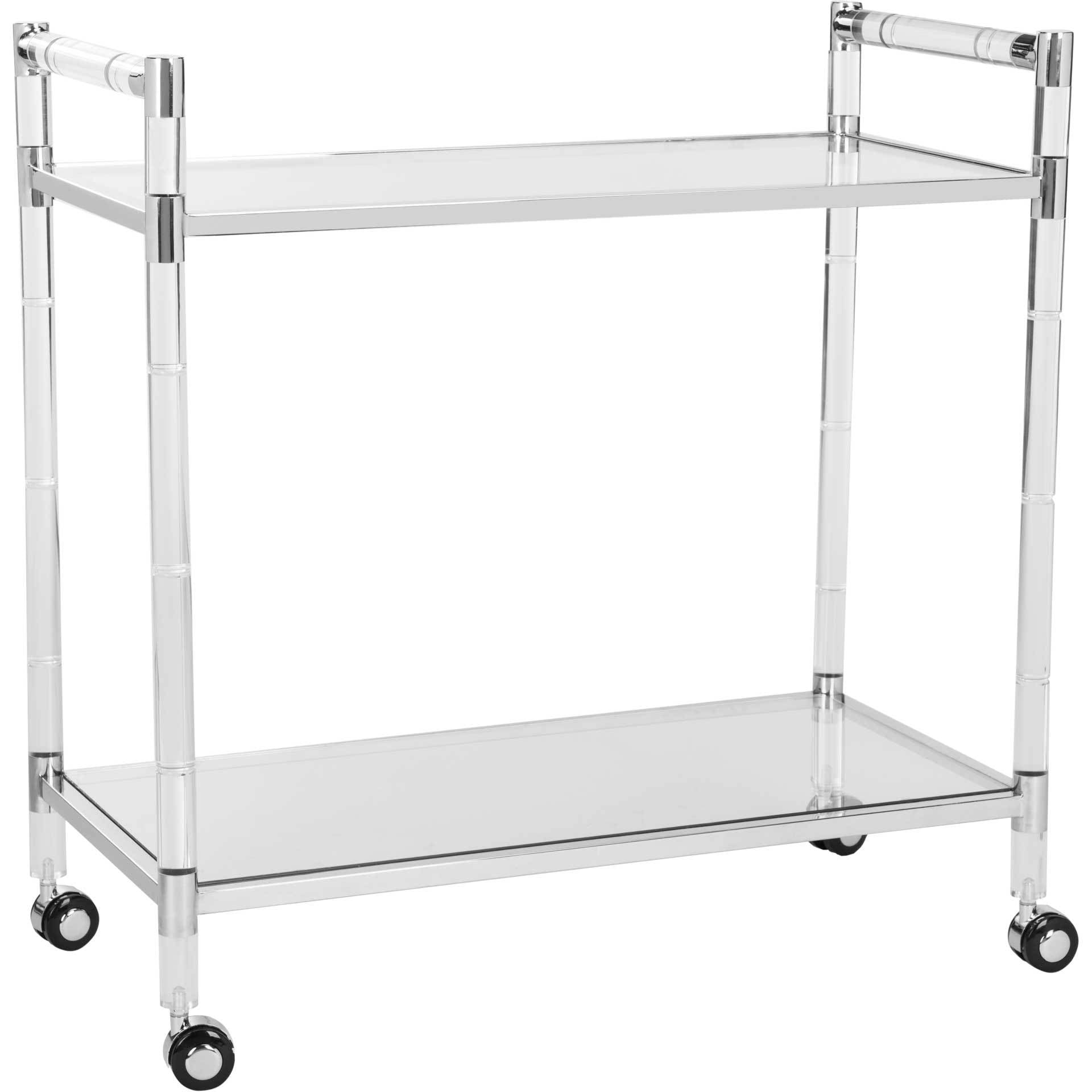 Dustin Bar Trolley Silver