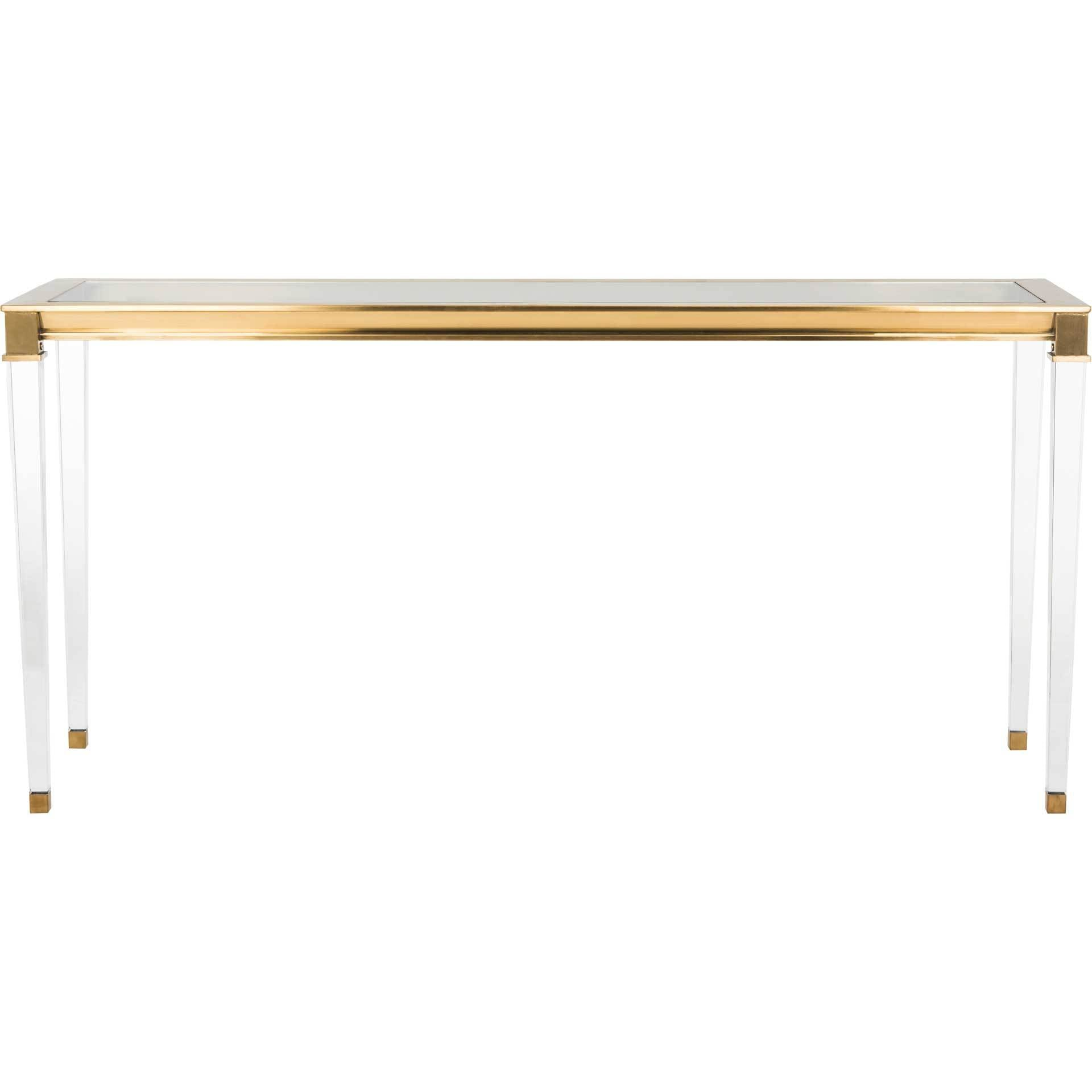 Channing Console Table Gold