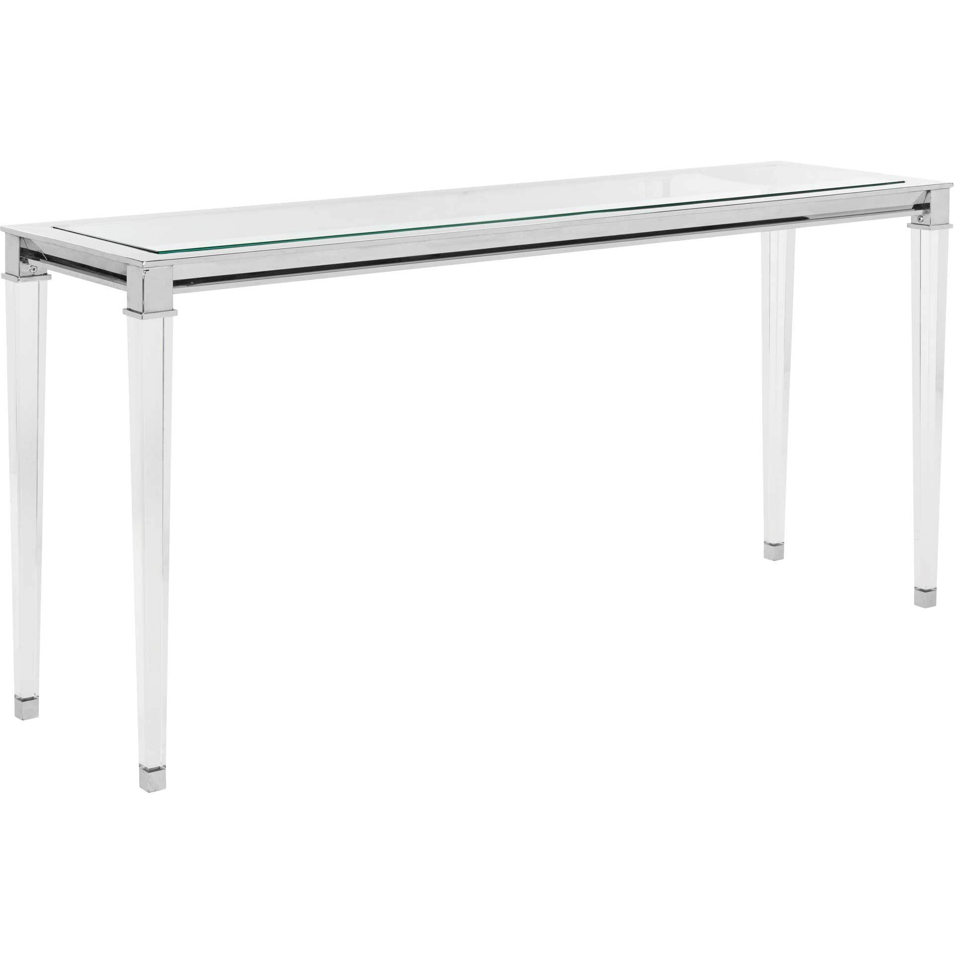 Channing Console Table Silver