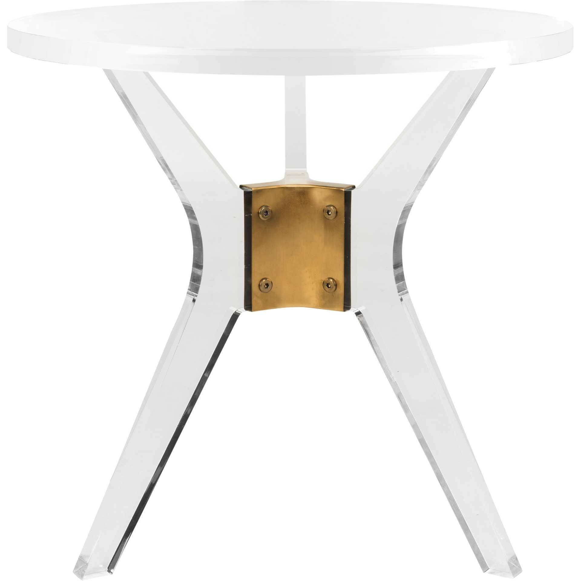 Wendy Acrylic End Table