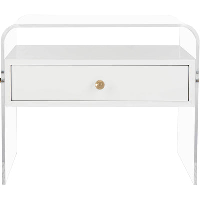 Deon Lucite Side Table