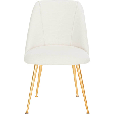 Forrest Side Chair Creme/Gold
