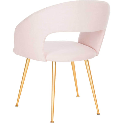 Lockwood Arm Chair Light Pink