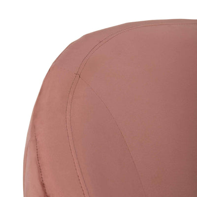 Raymond Channel Tufted Tub Chair Dusty Rose/Gold