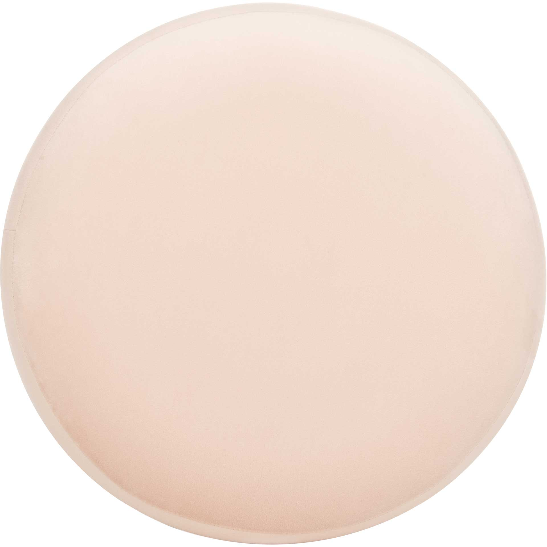 Skeat Gold Base Ottoman Light Pink