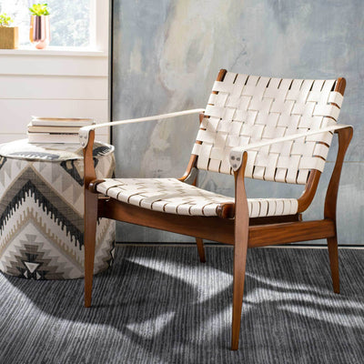 Diya Safari Chair White/Brown