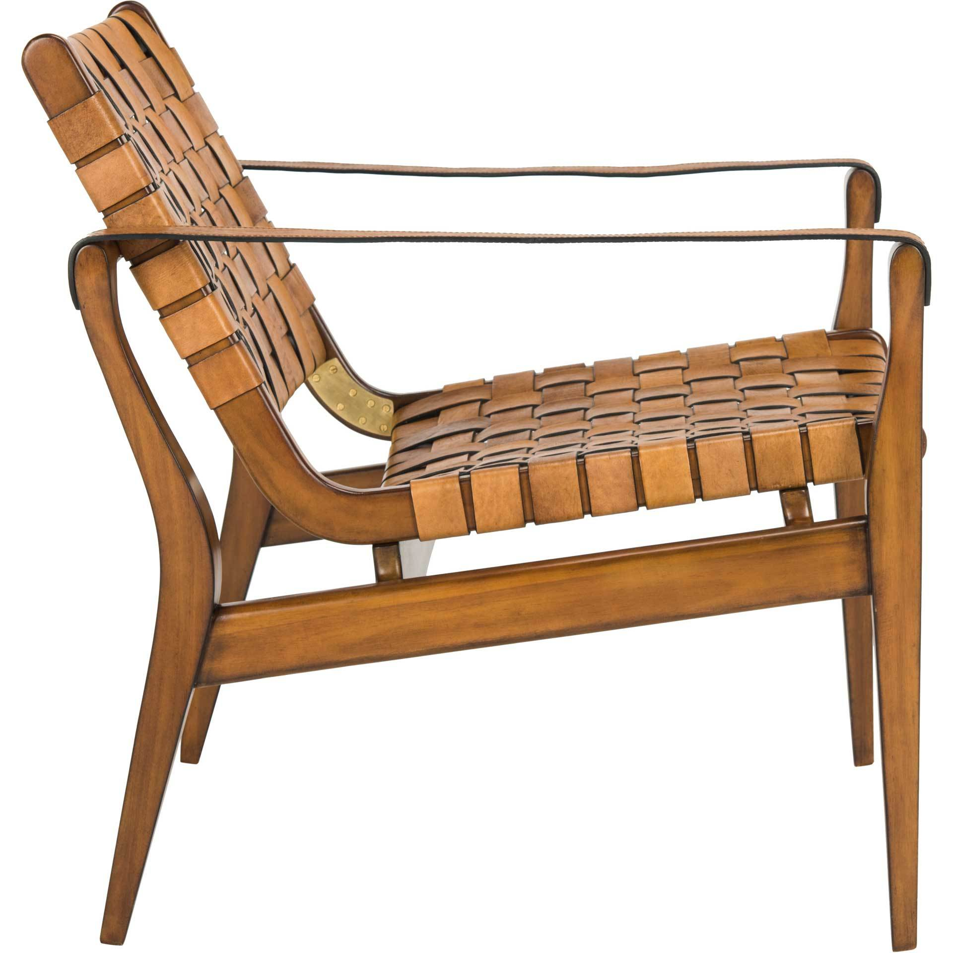 Diya Safari Chair Light Brown/Brown