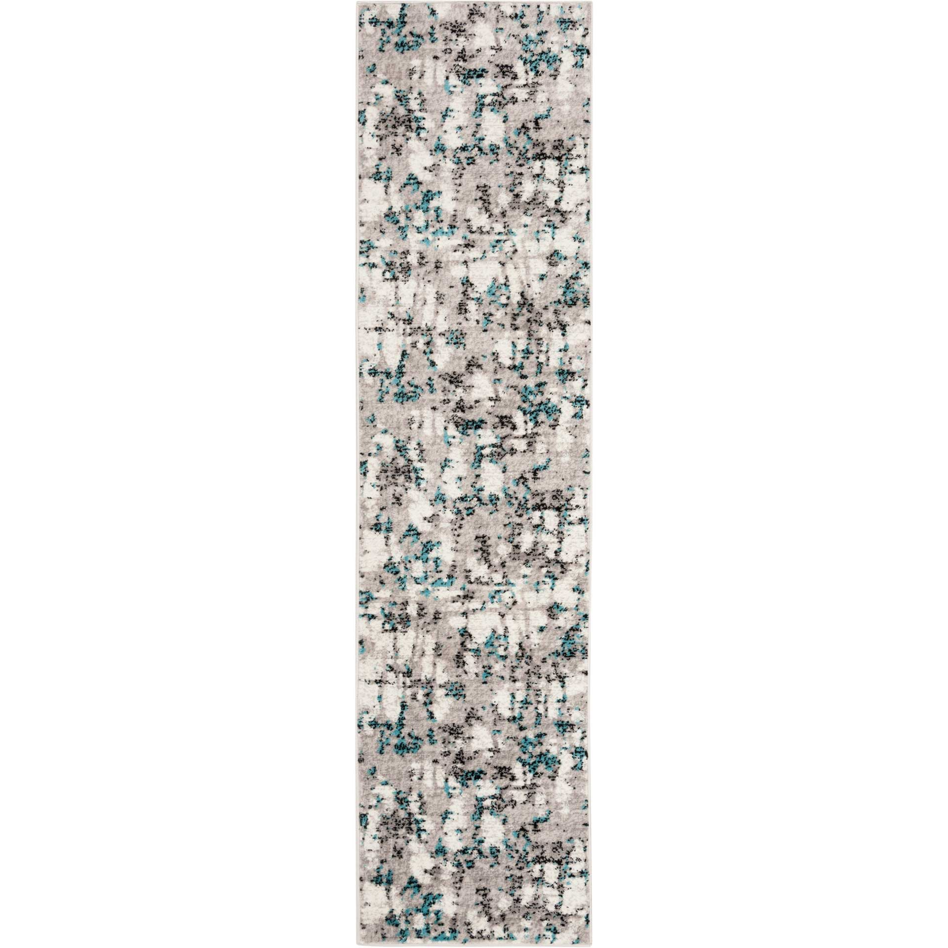 Skyler Gray/Blue Runner Rug