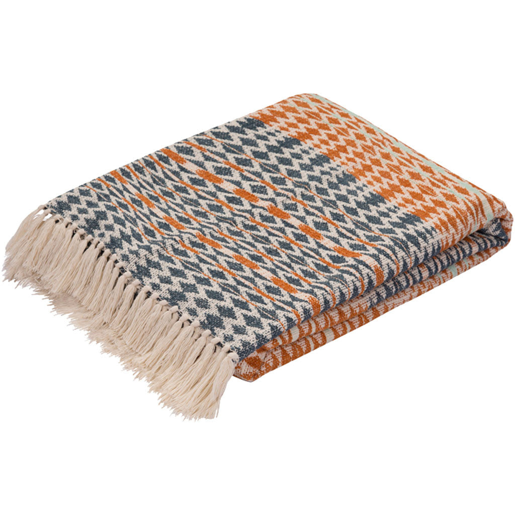 Spirit Orange/Blue Throw