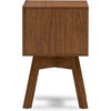 Winston Nightstand Walnut/White