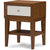 Gordon Nightstand Walnut/White