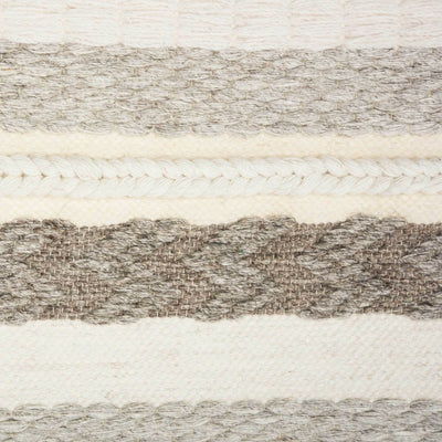 Seattle Woven Wall Art Ivory/Gray