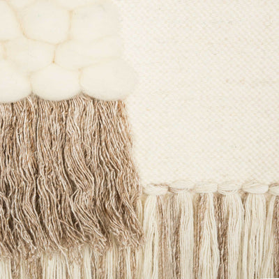 Seattle Woven Wall Art Cream/Beige