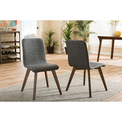 Scion Chair Dark Gray (Set of 2)