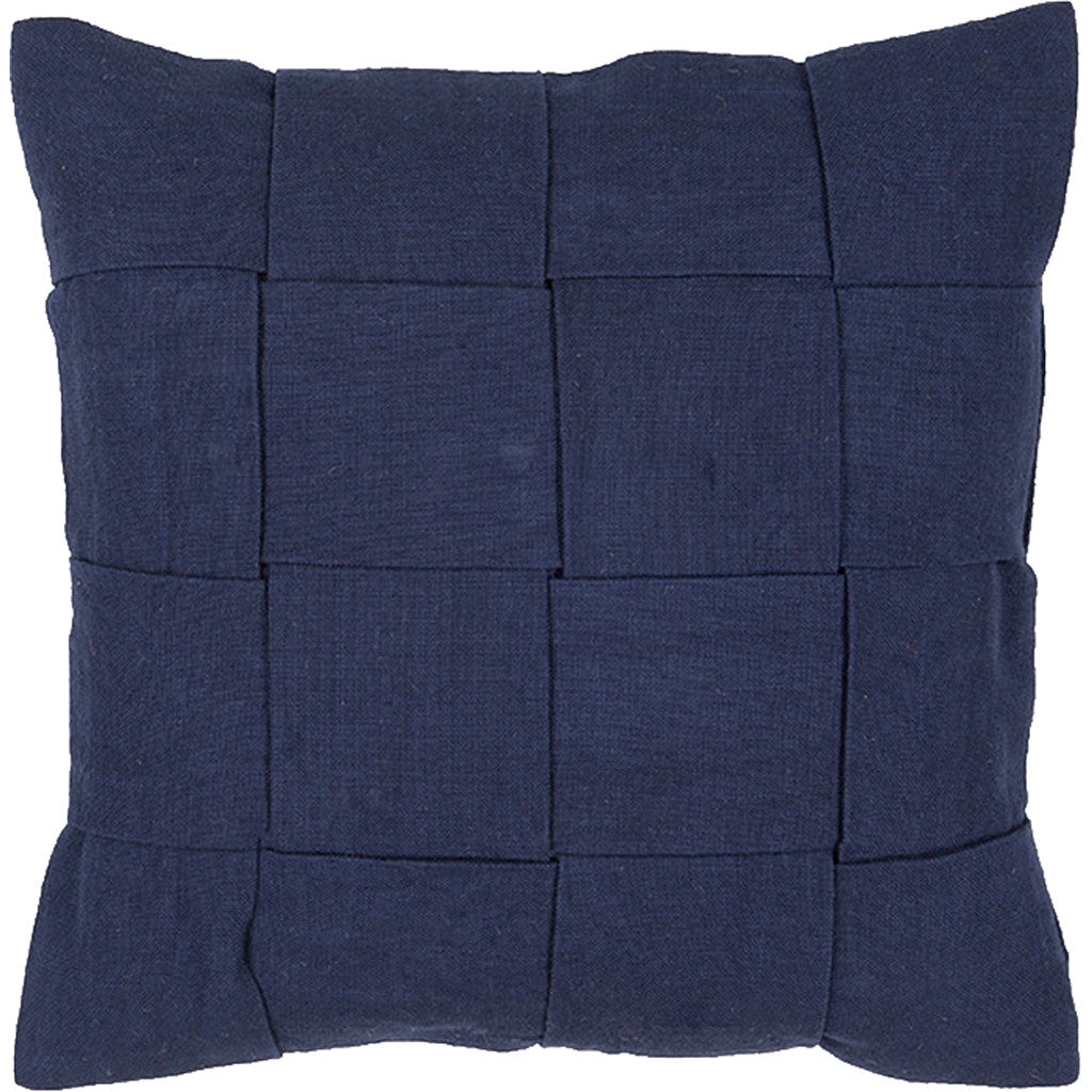 Tabby Tabbysolid01 Navy Pillow