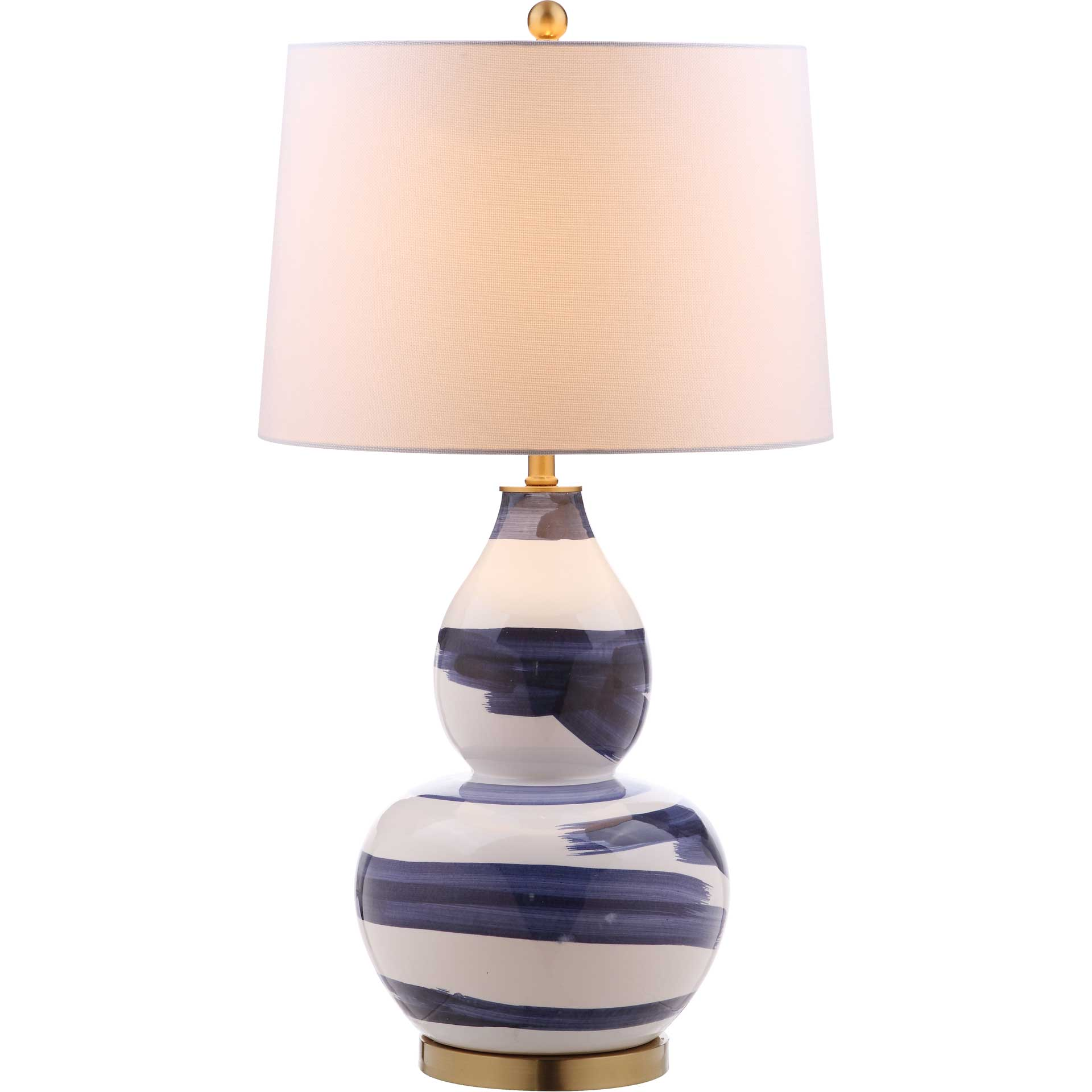 Ailey Table Lamp Blue/White