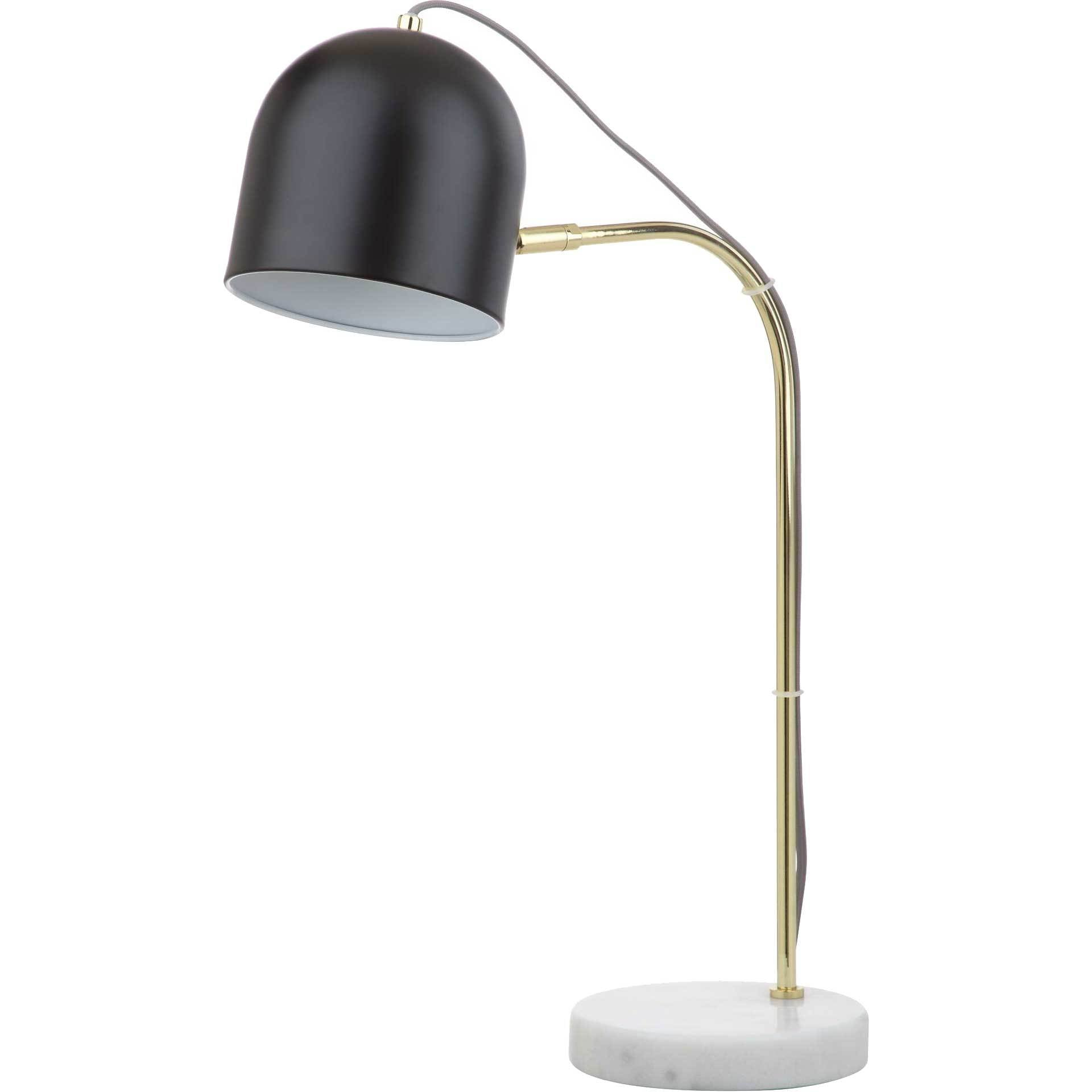 Draven Table Lamp Gold/Black
