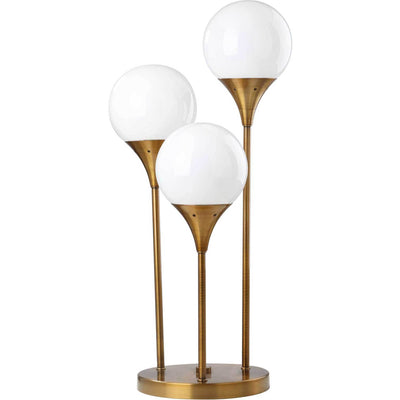 Malaki Table Lamp Bras Gold