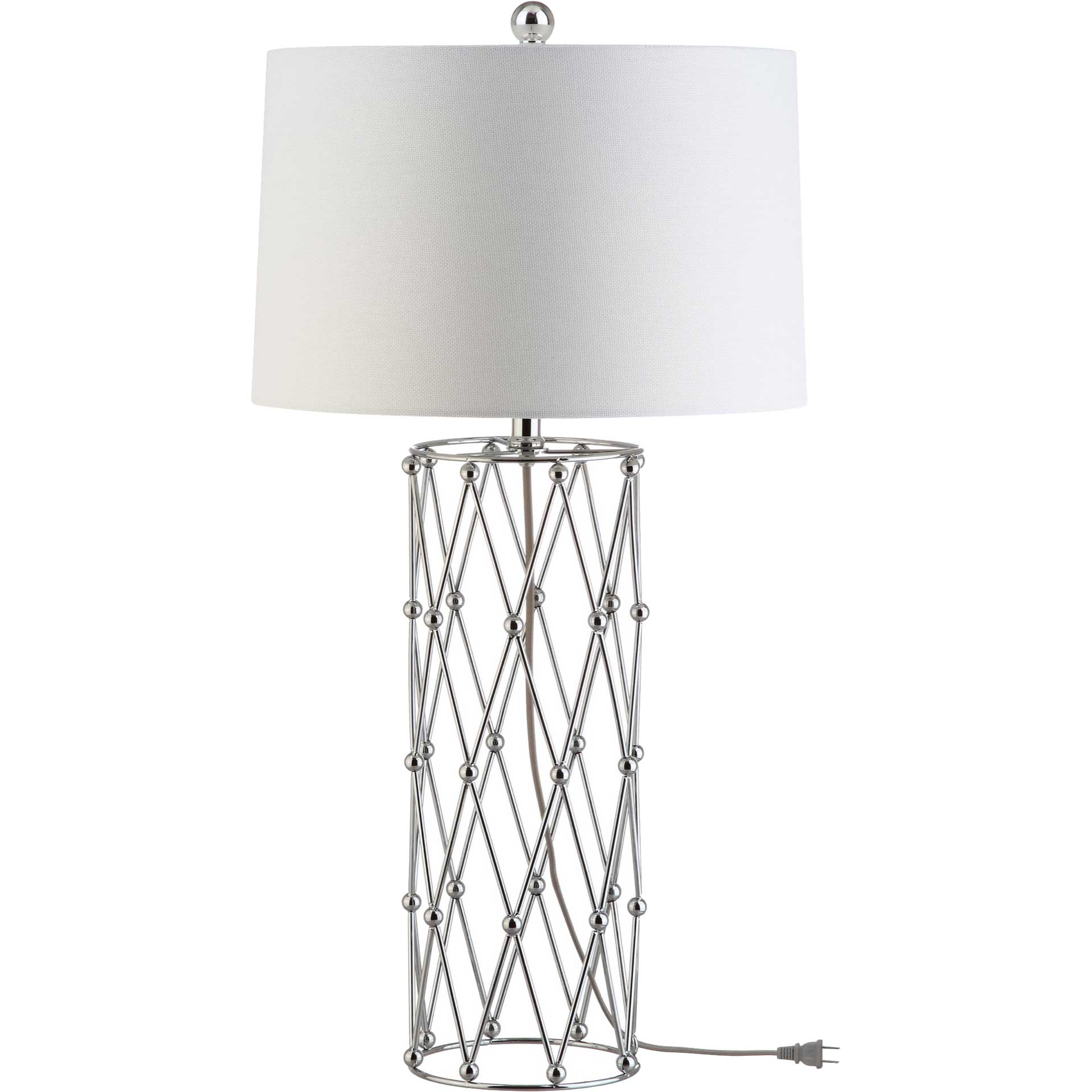 Lizbeth Table Lamp Silver