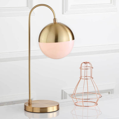 Carissa Table Lamp Brass Gold