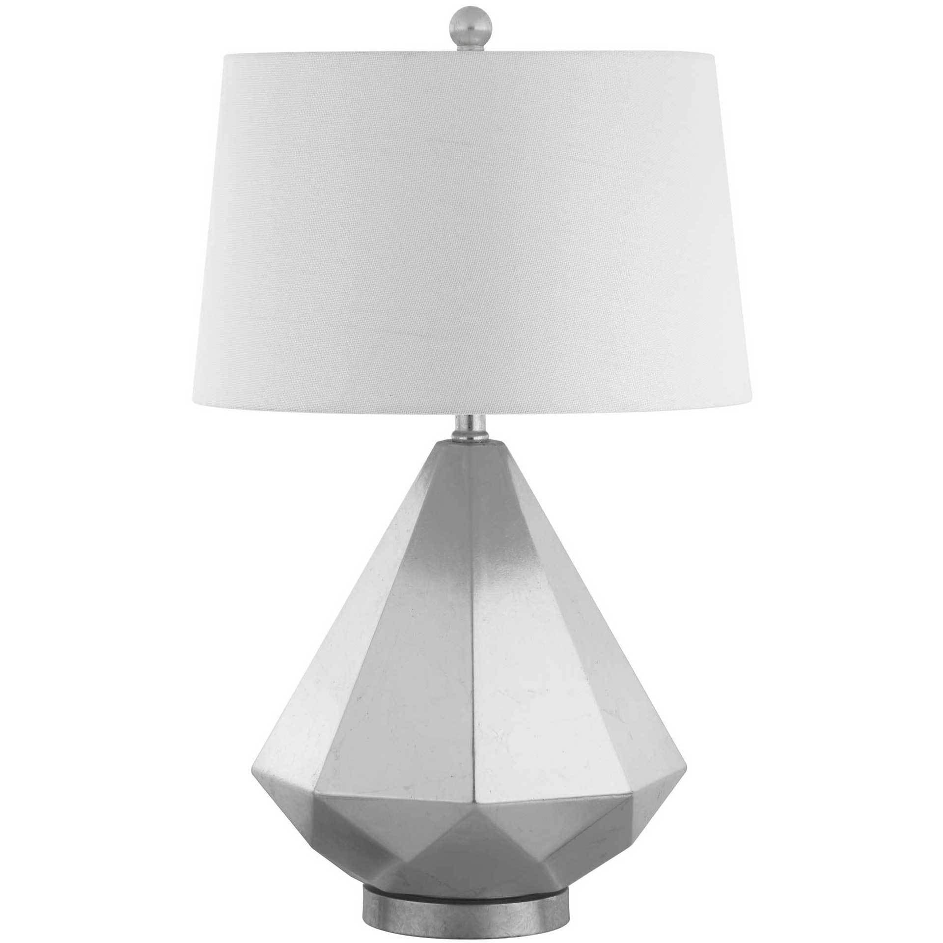 Twila Table Lamp Silver Leaf (Set of 2)
