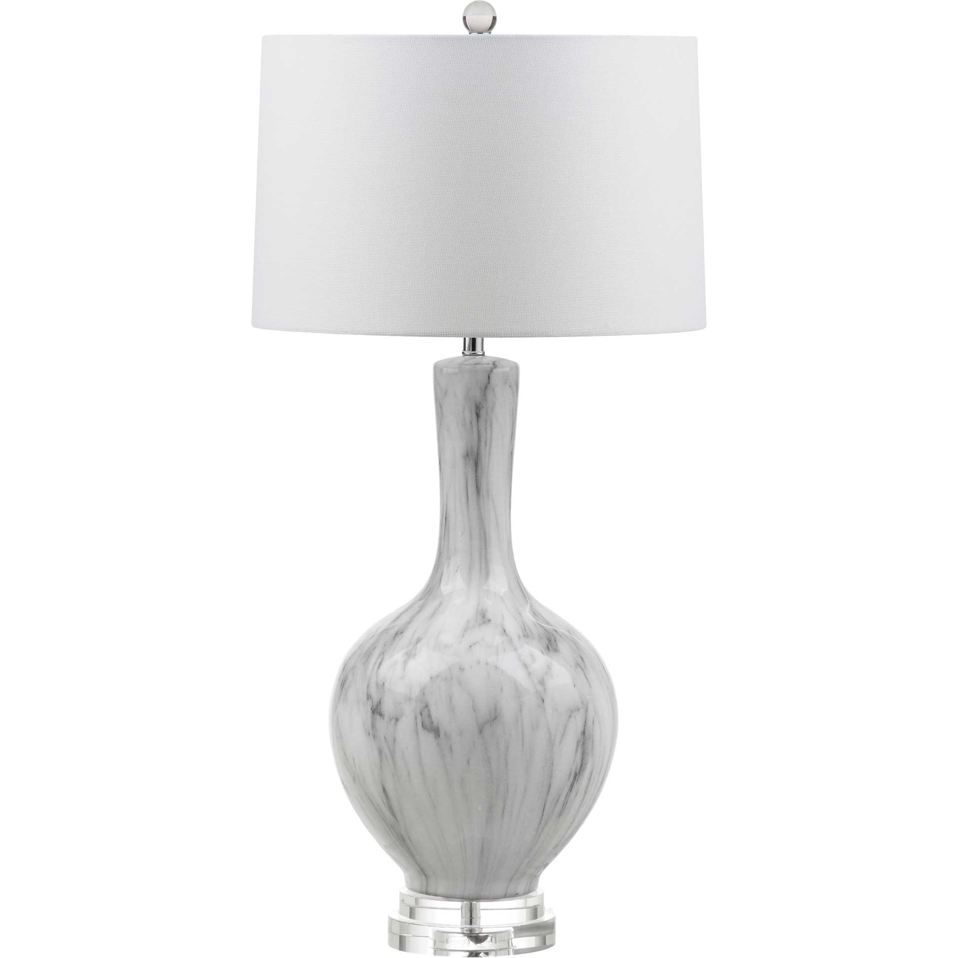 Greenlee Table Lamp White/Gray (Set of 2)