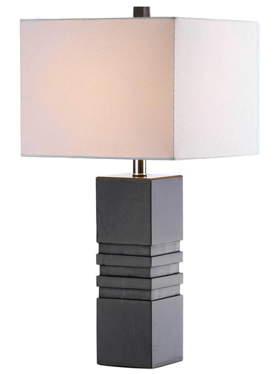 Fairmont Marble Table Lamp Black