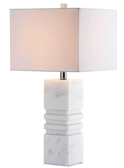 Fairmont Marble Table Lamp White