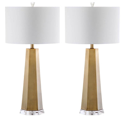 Audrey Table Lamp Brass Gold (Set of 2)