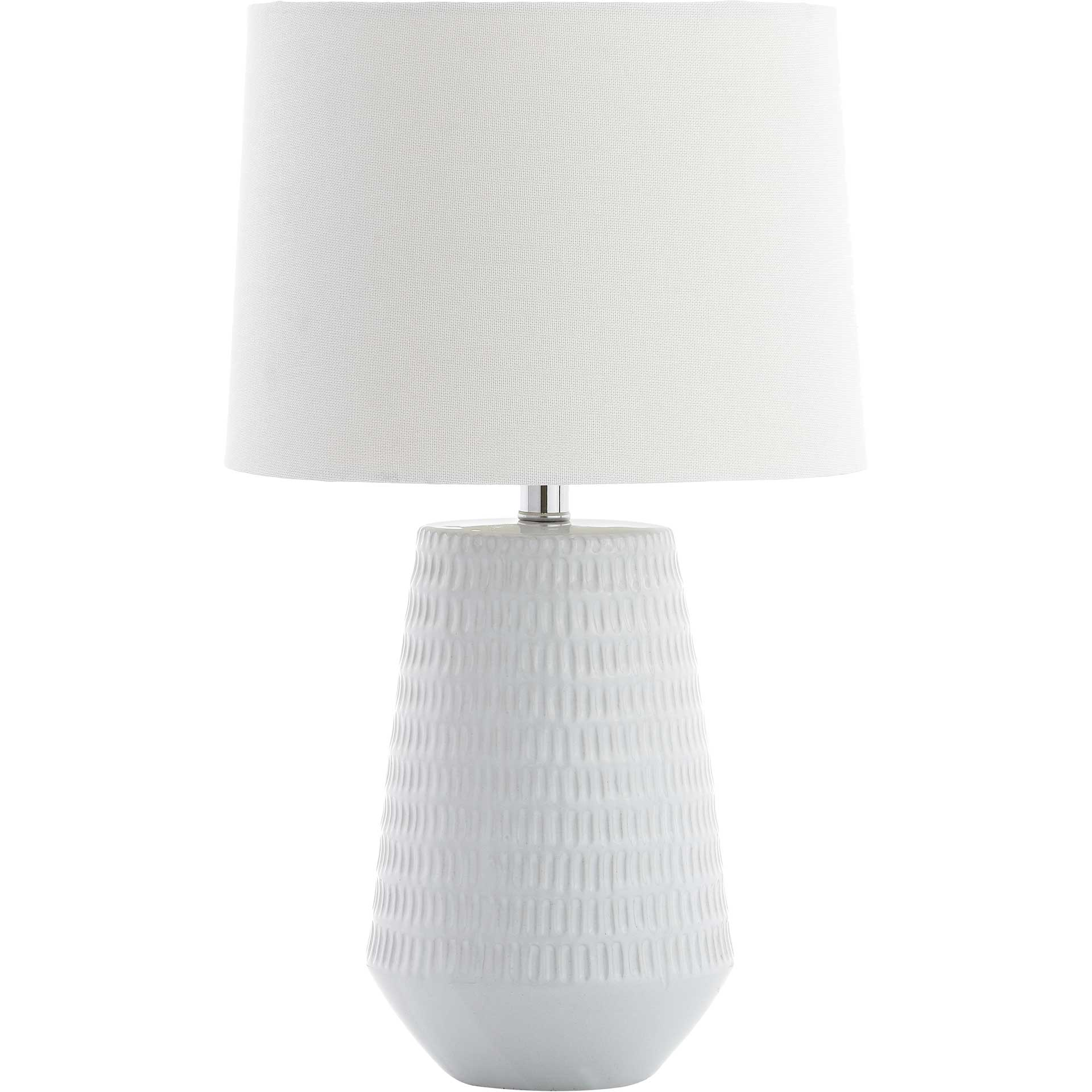 Steer Table Lamp White