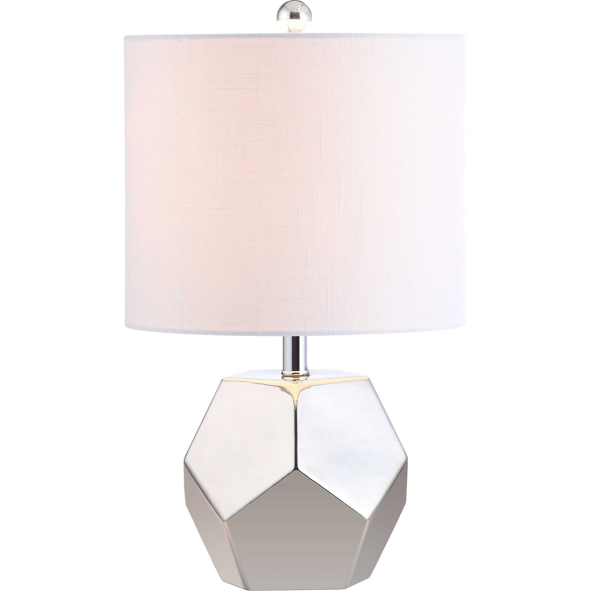 Hamilton Table Lamp Plated Silver