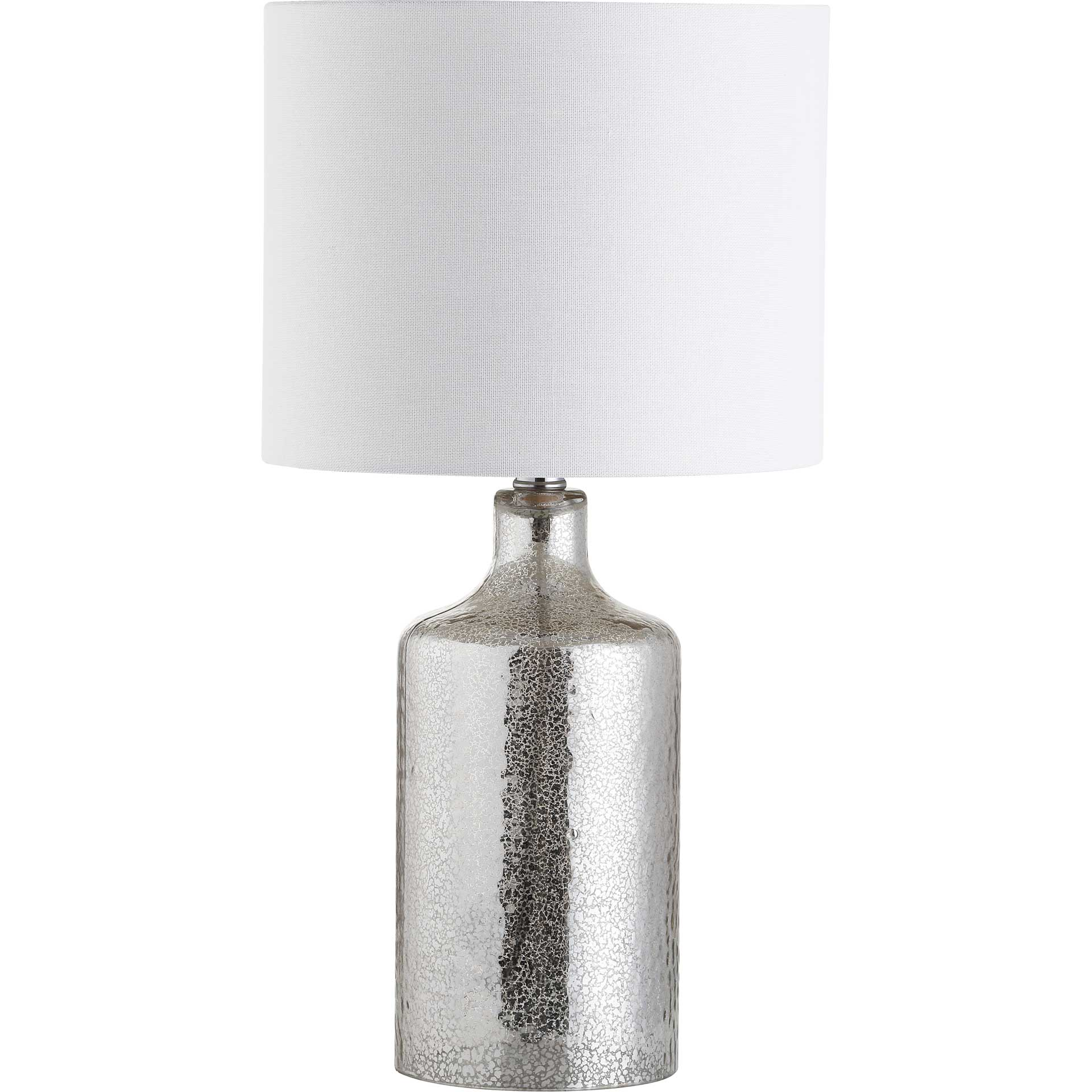 Dana Table Lamp Silver/Ivory
