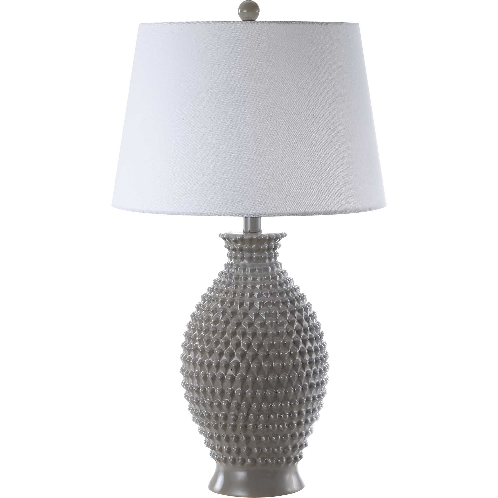 Romina Table Lamp Gray (Set of 2)