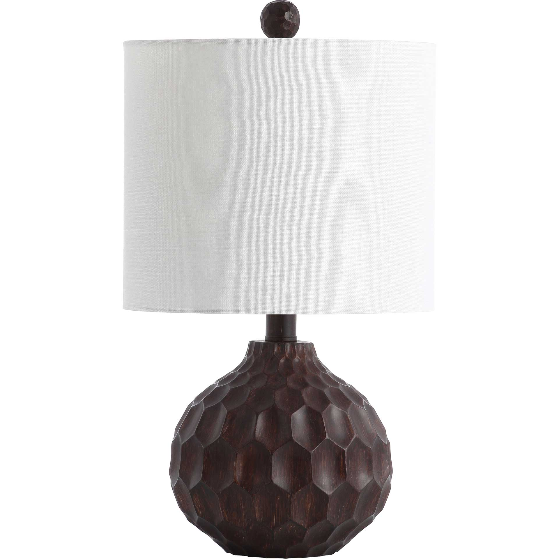 Lucas Table Lamp Dark Brown